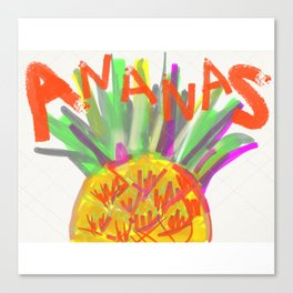 Pineapple for xd00d00x No.2 Canvas Print