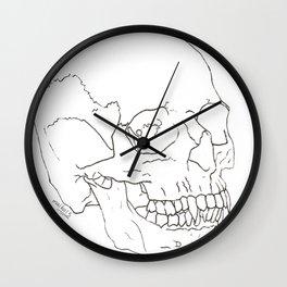 Vamp Skull Wall Clock