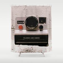 Pronto B Land Camera, 1977 Shower Curtain
