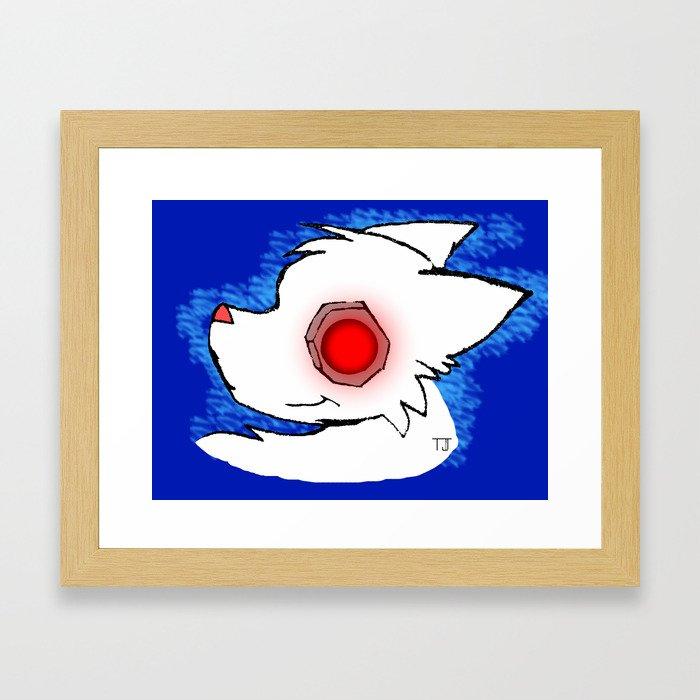 Robo Dog Framed Art Print