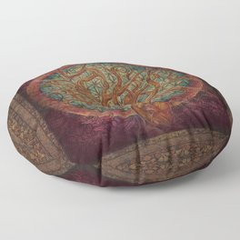 The Great Tree Floor Pillow