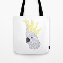 Cockatoo Parrot Tote Bag