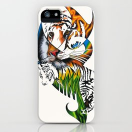 Sumatran Tiger iPhone Case