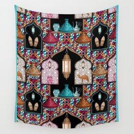 Marrakech Night Wall Tapestry