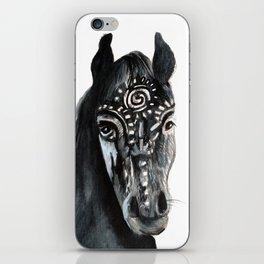 Shadow Wild Heart Horse iPhone Skin