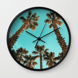Palm Tree Laid Back Art Print {1 of 4} Wall Clock