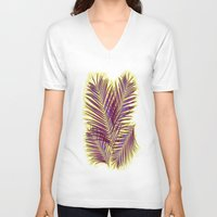 palms V-neck T-shirts featuring Palms by  Agostino Lo Coco