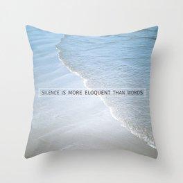 Eloquence Throw Pillow