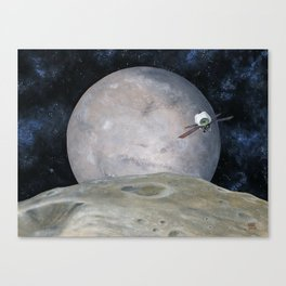 Discovering Mars Canvas Print
