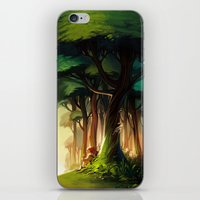 loish iPhone & iPod Skins featuring Rest by loish