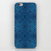 knit iPhone & iPod Skins featuring Knit Reflection by Katie Troisi