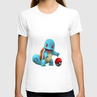 squirtle T-shirts featuring Squirtle 2 by Yamilett Pimentel