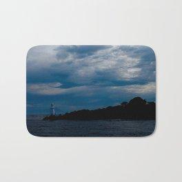 Lighthouse Storm Bath Mat