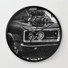 Fuel injection is nice, but I'd rather be BLOWN! Wall Clock