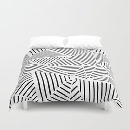 Ab Linear Zoom W Duvet Cover