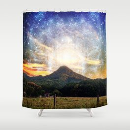 Starfall and Other such Nonsense Shower Curtain