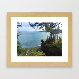 Halibut Cove Framed Art Print