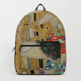 The Kiss by Gustav Klimt Backpack