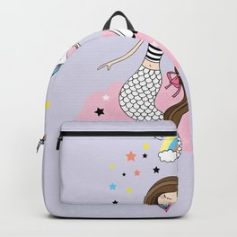 Mermaid & Unicorn Backpack