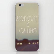 Adventure is Calling iPhone & iPod Skin