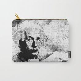 Albert Einstein - schwarz-weiß Carry-All Pouch