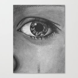 Eye Cry Canvas Print
