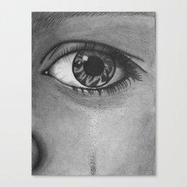 Eye Cry Canvas Print