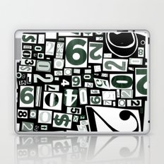 Numbers by Friztin Laptop & iPad Skin