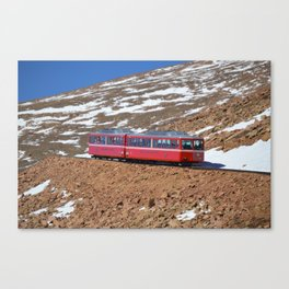 The Trolly Canvas Print