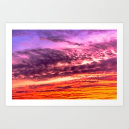 sunset clouds art prints for any decor style society6 sunset clouds art prints for any decor
