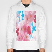 cherry blossoms Hoodies featuring Cherry Blossoms by raven's_revelation_city_graphics