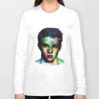 boy Long Sleeve T-shirts featuring Boy by Ana Montaño