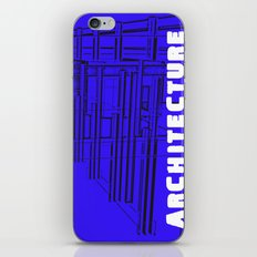 Architecture Blue iPhone & iPod Skin