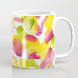 180719 Koh-I-Noor Watercolour Abstract 34| Watercolor Brush Strokes Coffee Mug