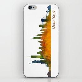 New York City Skyline Hq V01 iPhone Skin