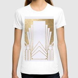 Art Deco design - blonde T-shirt