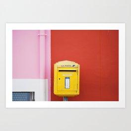 05. La Poste, Bretagne, France Art Print