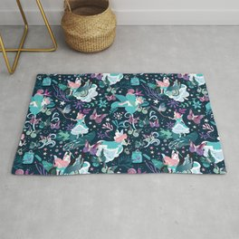 Butterfly princess Rug