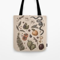 florida Tote Bags featuring Florida Nature Walks by Jessica Roux