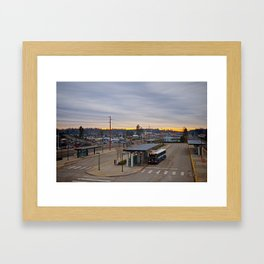 Lakewood landscape Framed Art Print