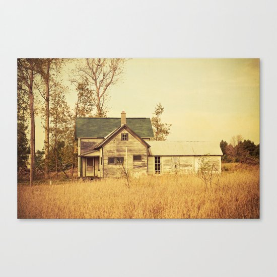 Lonely World Canvas Print