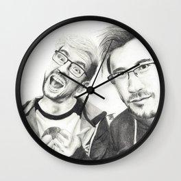 Markiplier and Jacksepticeye Wall Clock