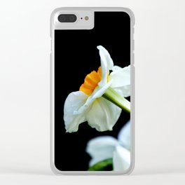 Daffodils3 Clear iPhone Case