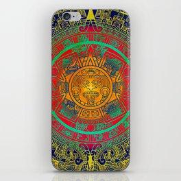 Aztec Sun God iPhone Skin