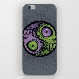 Zombie Yin-Yang iPhone Skin