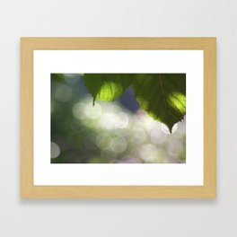 creative light Framed Art Print