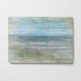 Beachwood Metal Print