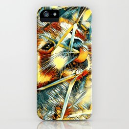 AnimalArt_RedPanda_20170706_by_JAMColorsSpecial iPhone Case
