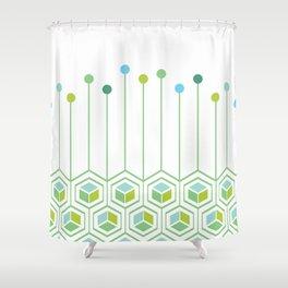Hexa Shower Curtain
