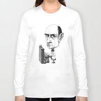 arnold Long Sleeve T-shirts featuring Arnold Schoenberg by Gareth Southwell